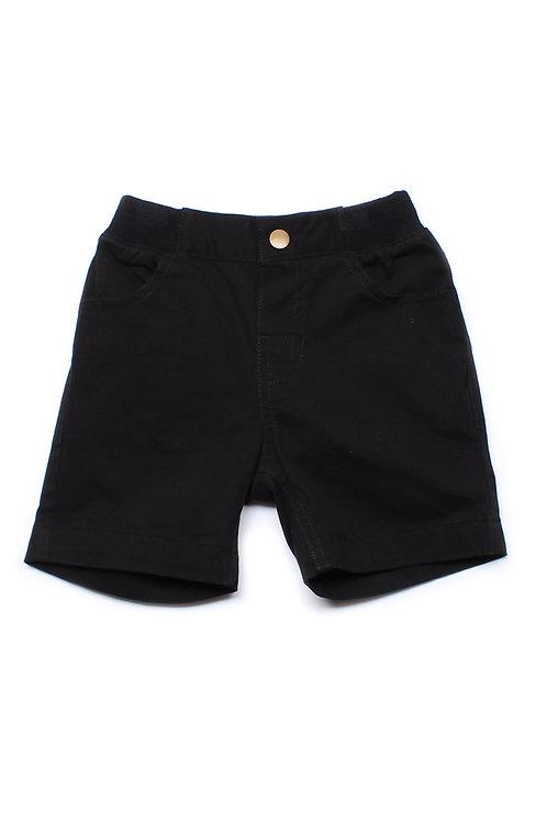 Classic Shorts BLACK (Boy's Shorts)