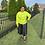 Thumbnail: Believe In God Sweatshirt - Safety Green w/Black