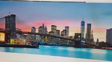 Direct digital print on 3' x 8' half inch Sintra