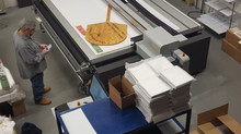 Large Format Printing of a pizza peel