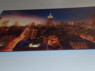 New Jersey Large Format Digital Printing on Dibond incl. hanging frame