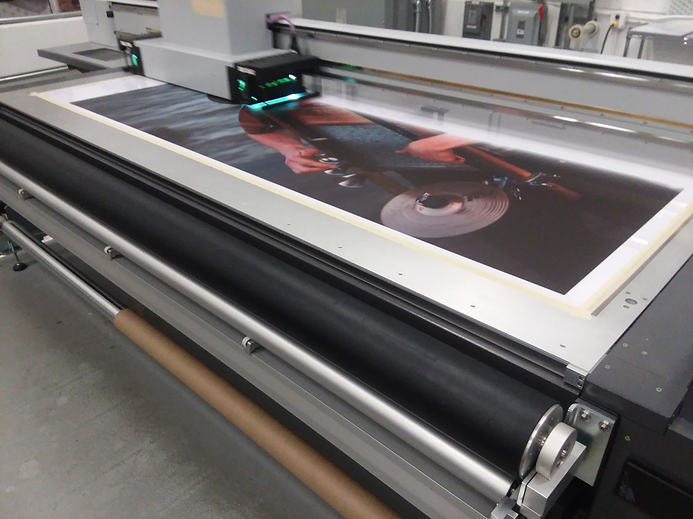 Our quality printing is highly sought after by artists