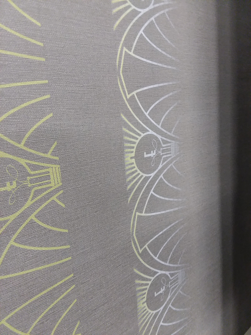 Multi-layer wall paper printing