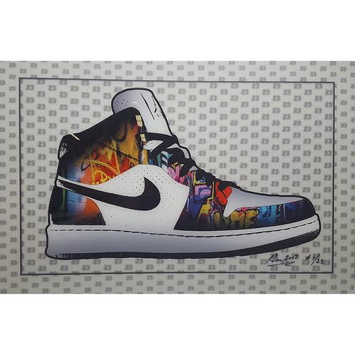 "Graffiti Sneaker 24""x36"""