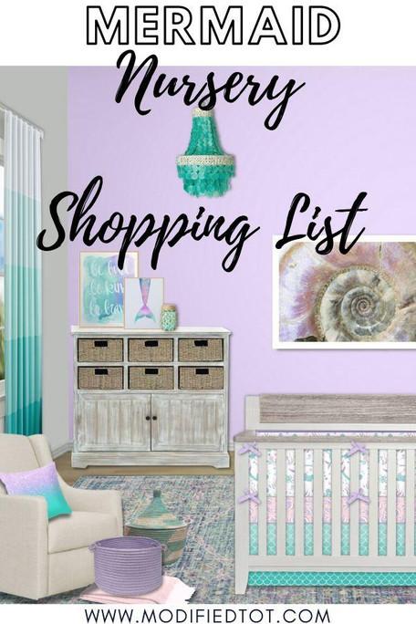 Shopping List: Mermaid Nursery