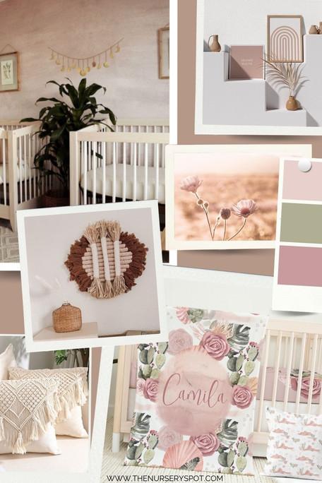Boho Desert Baby Girl Nursery: Get The Look