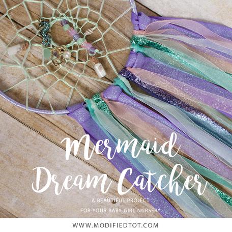 DIY Mermaid Dream Catcher