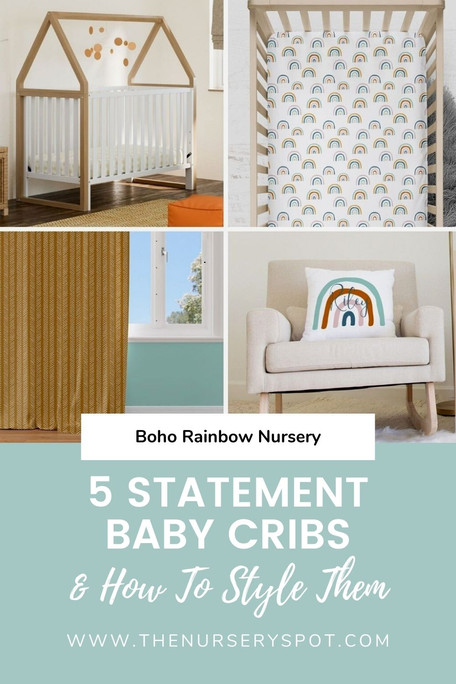 5 Statement Baby Cribs & How to Style Them