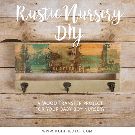 Rustic Baby Boy Nursery Project
