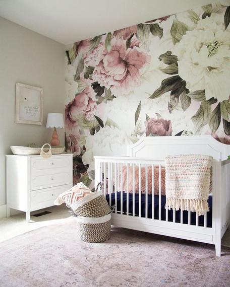 Dusty Rose Nursery: Crib Bedding Ideas