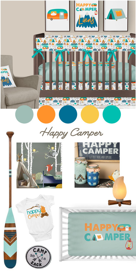 A 'Happy Camper' Boys Nursery