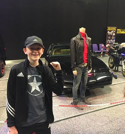 Murray at Comic con in Edinburgh today.j
