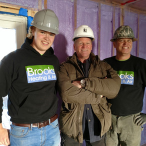 We're On TV! Holmes + Holmes featuring Brooks Heating & Air