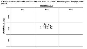 Lower Bound MSL