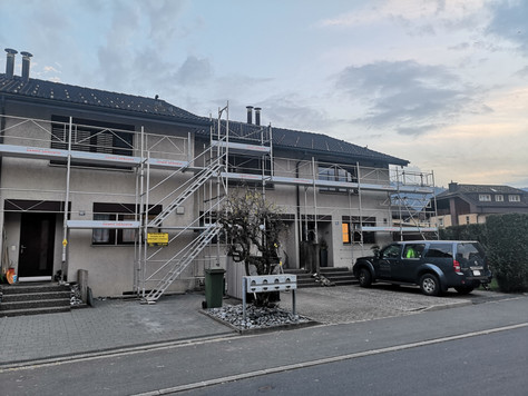 Fassadensanierung Reiheneinfamilienhaus