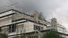 Fassaden- und Dachsanierung in Wollerau