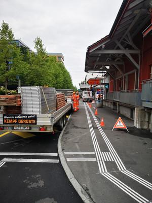 Überdachung Busbahnhof Pfäffikon SZ