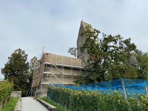 Restauration Kirche St. Peter und Paul