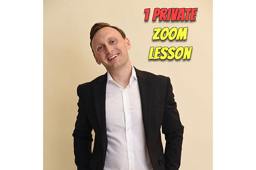 1 Private Zoom Lesson