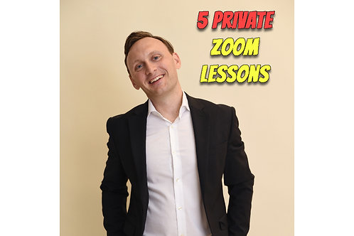5 Private Zoom Lessons