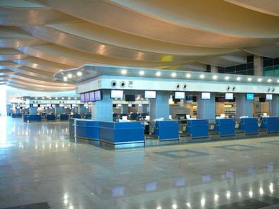 Cairo International Airport Counter