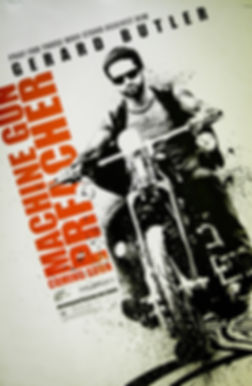 MGP Movie poster and bike that is being