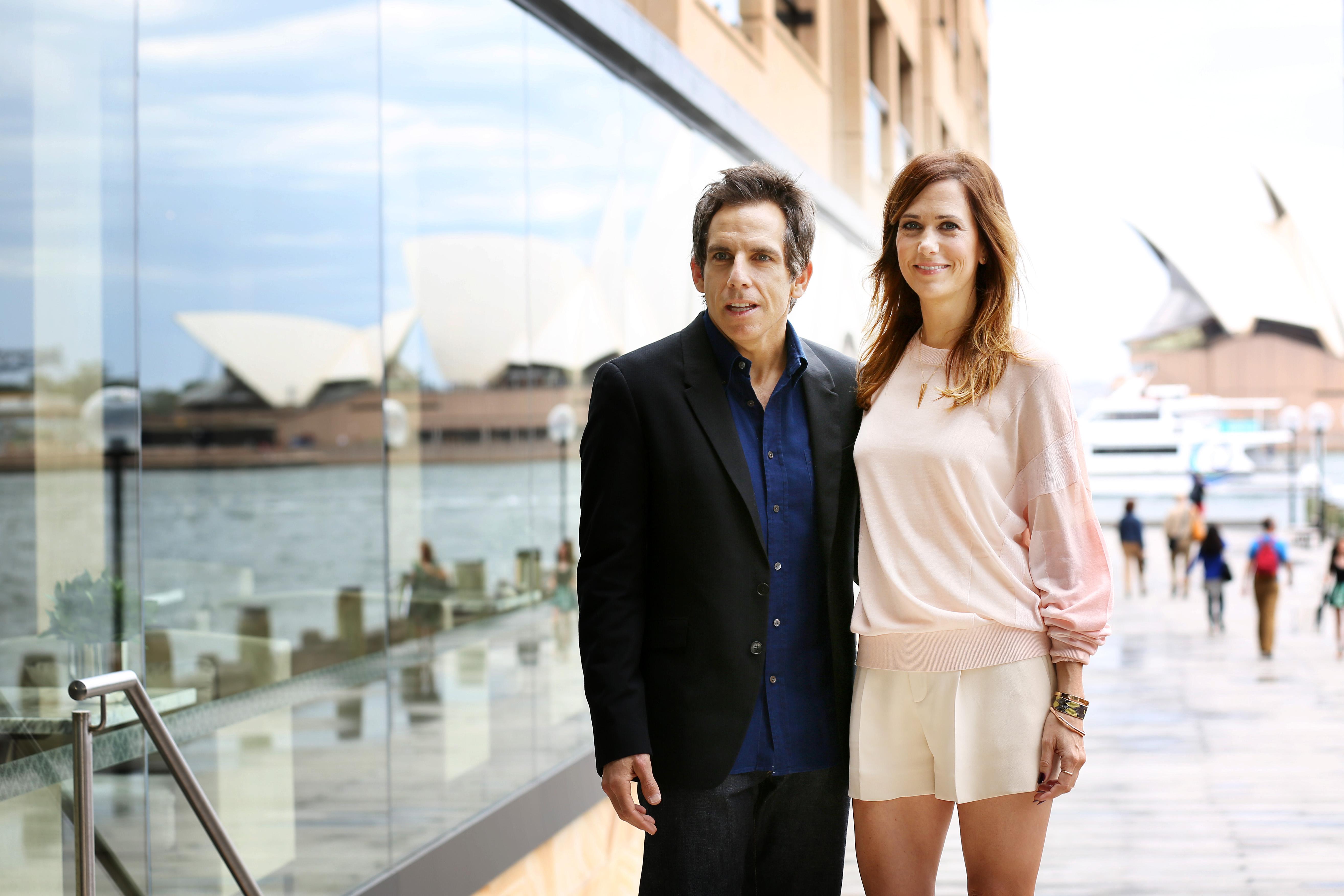 Ben Stiller & Kristen Wiig