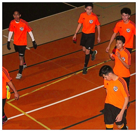 U-15/16 Moves Forward To The Finals And Strives To Be Champions of the RCC Indoor League.