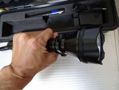 非破壊検査:紫外線ライト照射による漏水調査