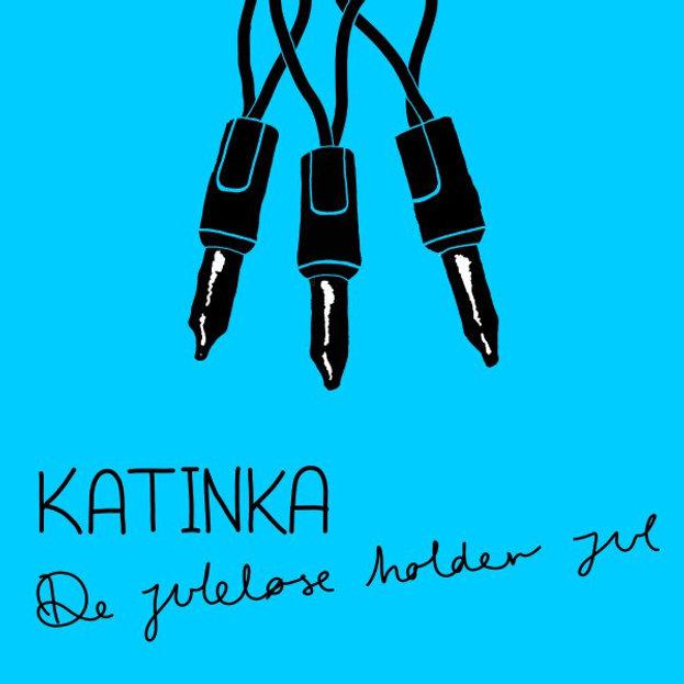 Katinka - De juleløse holder jul - Albumcover