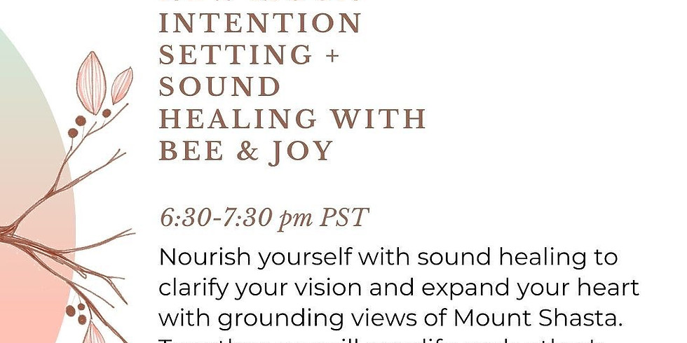 New Moon Intention Setting & Sound Healing