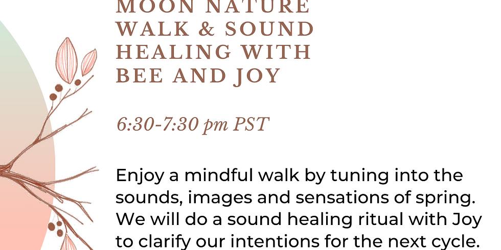 New Moon Nature Walk & Sound Healing