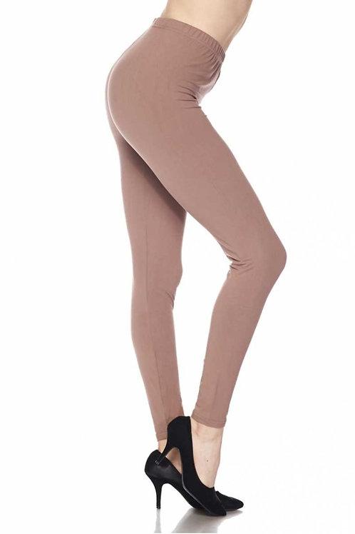 Plus Leggings - Mocha