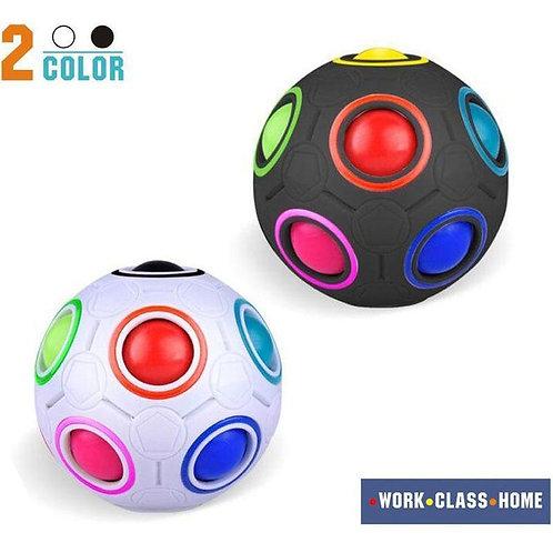 Rainbow Ball Magic Cube Fidget Toy