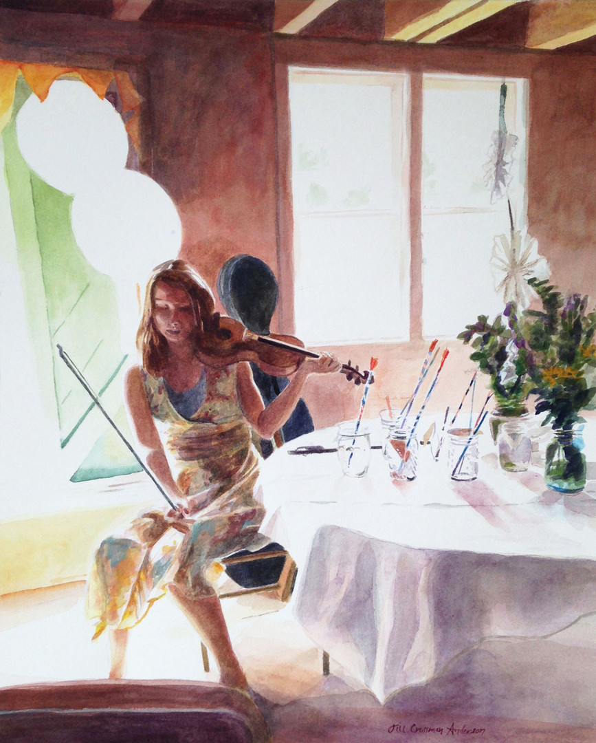 Country Wedding Fiddler
