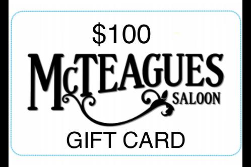 $100 Gift Cert
