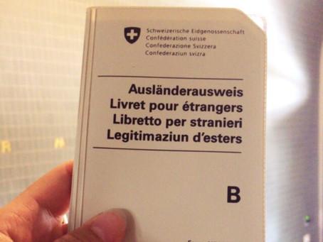 Ausländerausweis! Jawohl!