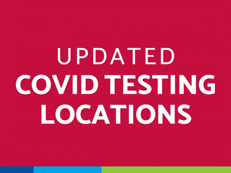 COVID-19 testing locations