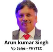 Arun Kumar Singh Vp Sales - PHYTEC
