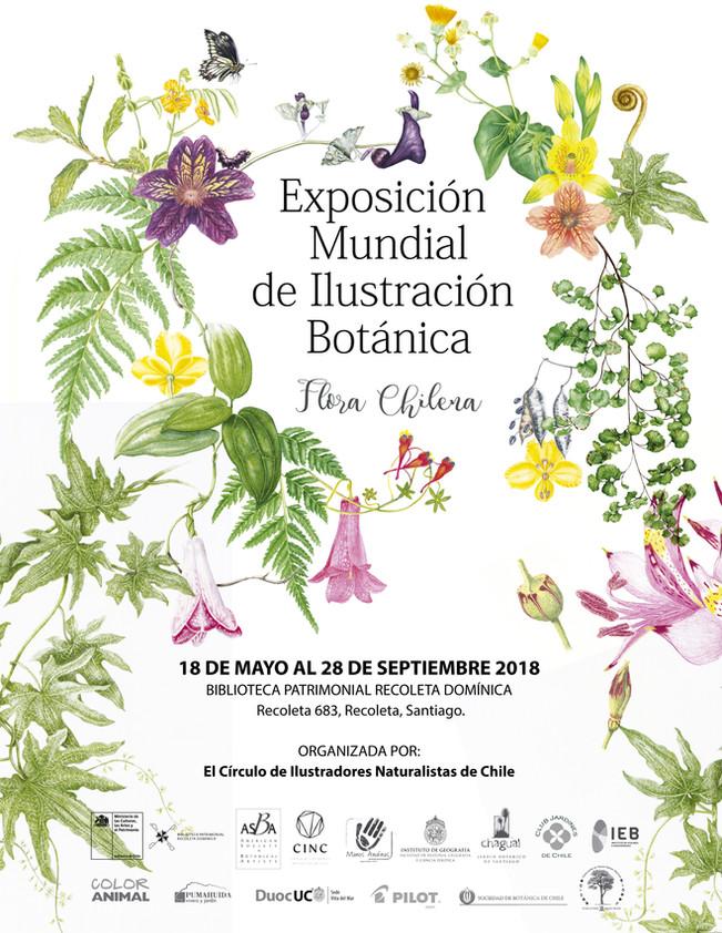 Exposición Mundial de Ilustración Botánica *Flora Chilena*