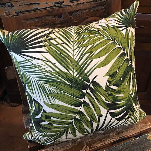 Tropical Palm pillow cover