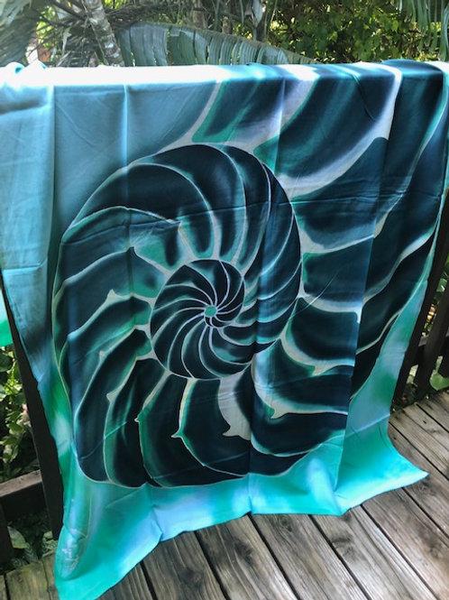 hand painted batik sarong