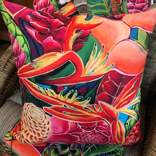 Tropical Art Pillow Cover