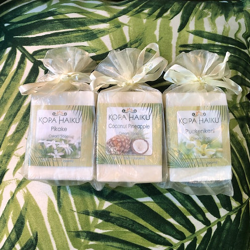 3 Bars of Hawaiian tropical Scented Soap
