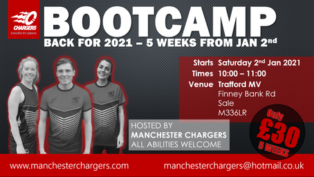BOOT CAMP IS BACK!