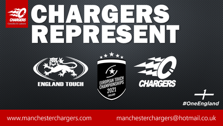England call up for 15 Chargers