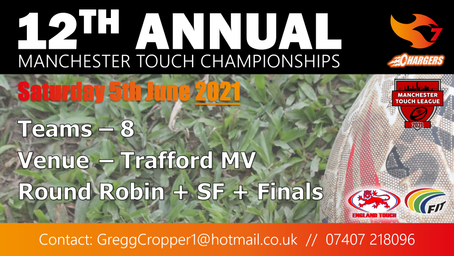 12th Annual Manchester Touch Championships