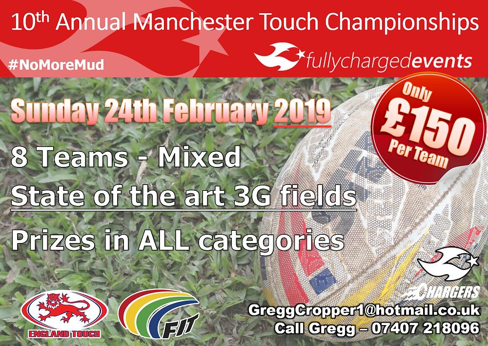 Manchester Tournament Poster 2019