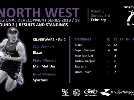 North West Regional Development Series // Round 2