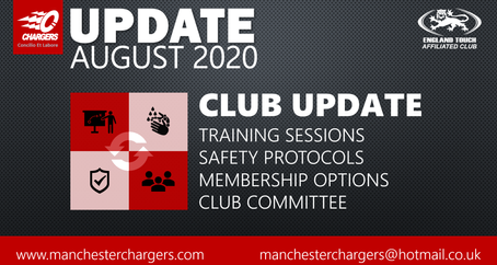 Chargers Update